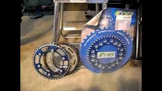 5. WR250R WR250X Installing WR250F sprockets on your R or X for higher top speed or torque