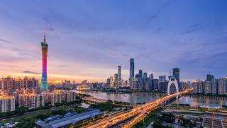 GuangZhou in time-lapse 延时摄影