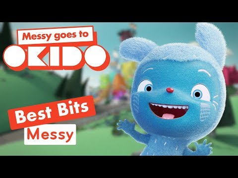Messy Goes To Okido - Messy's Best Bits! | Cartoons For Children | Cbeebies