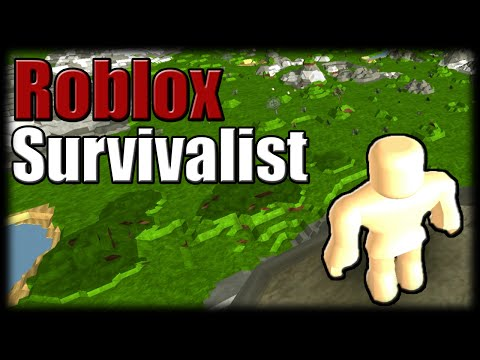 Jogando Roblox - Survivalist Alpha