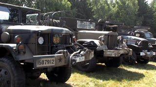 Sraz vojenských historických vozidel