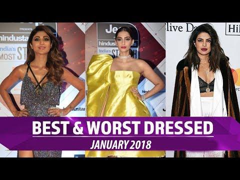 Alia Bhatt, Priyanka Chopra, Kareena Kapoor: Best and Worst dressed January 2018 | Pinkvilla