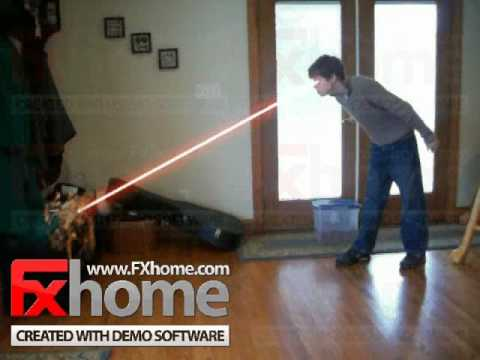 laser vision with fxhome effectslab pro demo