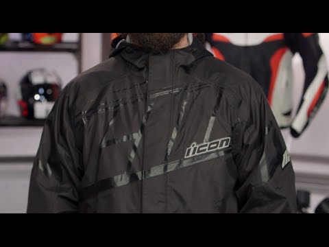 ICON PDX 2 Rain Jacket & Pants Review at RevZilla.com