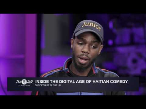 The Talk With James Pierre : Spotlight On Haitian Comedy