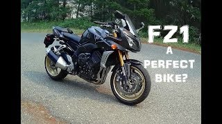 7. First Ride Series | 2008 Yamaha FZ1.  A Perfect Bike??  SV1000S Comparison