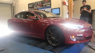 Tesla P100D on the dyno by DragTimes