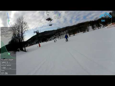 Ski Černý Důl modrá 3C 2016