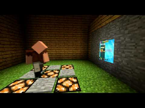 If Video Games Were In Minecraft 2 (ItsJerryAndHarry)