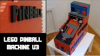 Lego Pinball Machine V3