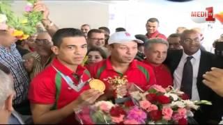 عود الملاكم المغربي محمد ربيعي