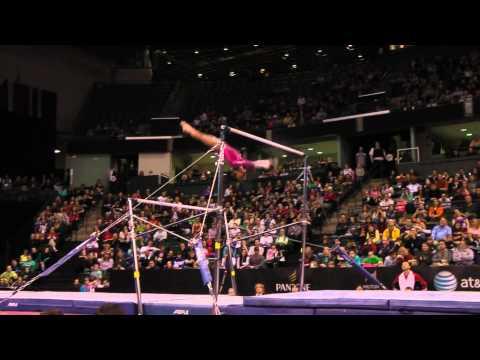 Gabrielle Douglas - Uneven Bars Finals (1st place!) - 2012 Kellogg's Pacific Rim Championships