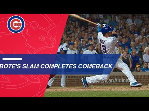 David Bote Hits A Walk-off Grand Slam To Lift Cubs Past Nats