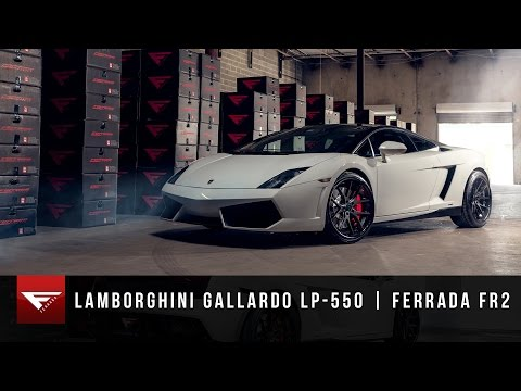 Lamborghini Gallardo LP 550 | Ferrada Wheels FR2 Matte Black