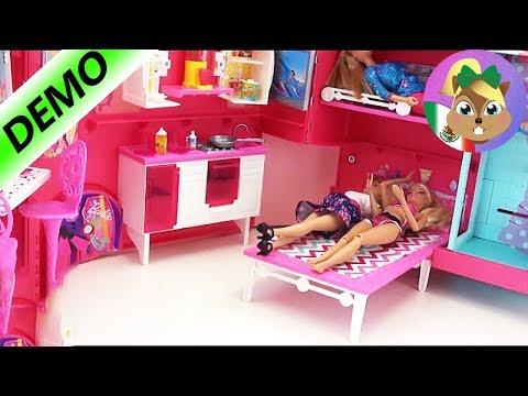 barbie campamento pop trailer español - Campamento Glam de Barbie
