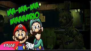 Mario y Luigi en Five Nights at Freddy's 3