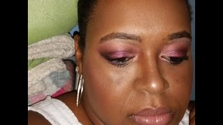 Rosy Purple Fall Look - YouTube