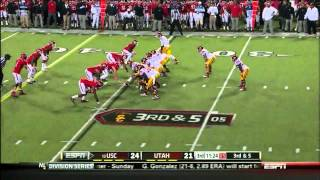 Matt Barkley vs Utah (2012)