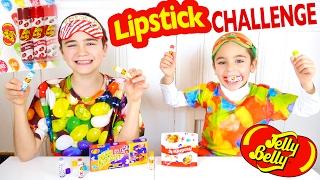 Video JELLY BELLY LIPSTICK CHALLENGE avec des Baumes à Lèvres Bonbons :) MP3, 3GP, MP4, WEBM, AVI, FLV Mei 2017