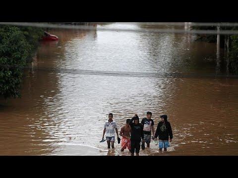 Φονικές πλημμύρες στο Σάο Πάολο