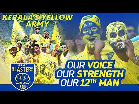 Kerala Blasters 12th man   Loudest Fans of India