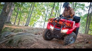 4. 2014 Honda FourTrax Rancher AT IRS