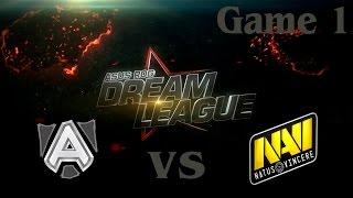 Alliance vs Na'Vi, game 1