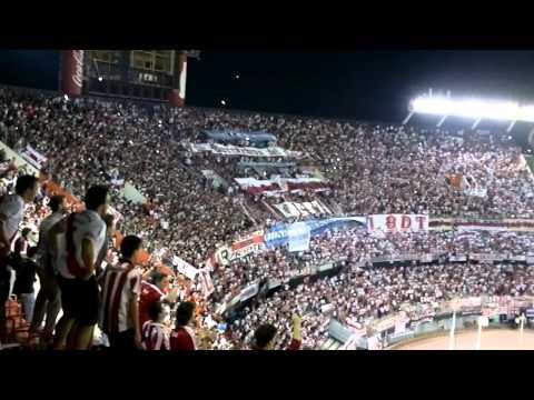 Video - RECIBIMIENTO AL INVICTO - River Plate vs Estudiantes LP - Copa Sudamericana 2014 - Los Borrachos del Tablón - River Plate - Argentina