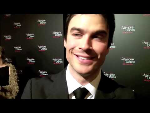 Ian - Interview: Ian Somerhalder Celebrates 100 Episodes of THE VAMPIRE DIARIES.