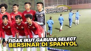 BISA BERSINAR TANPA GARUDA SELECT 🙄 Begini Kabar Mantan Kapten Timnas Indonesia U16 Di Spanyol