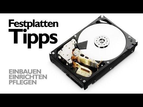 Festplatte | Richtig einbauen, einrichten und pflegen