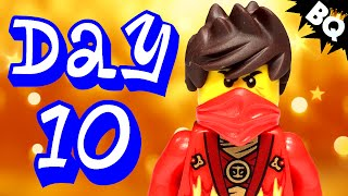 Custom LEGO Ninjago Advent Calendar 2014 Day 10 Unboxing