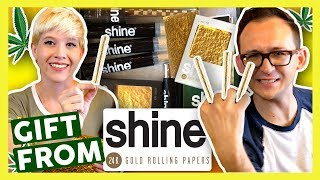 Unboxing a Surprise GIFT from SHINE PAPERS! by That High Couple
