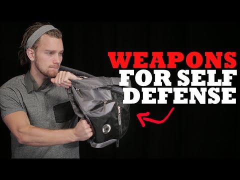 Improvised + Impromptu Weapons for Self Defense