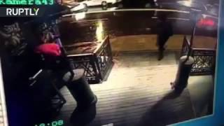 Istanbul nightclub gunman shooting at people caught on CCTV (GRAPHIC)
