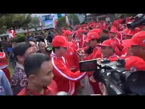 Pengukuhan Kontingen Pon DKI Jakarta