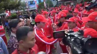Pengukuhan Kontingen PON XIX DKI Jakarta