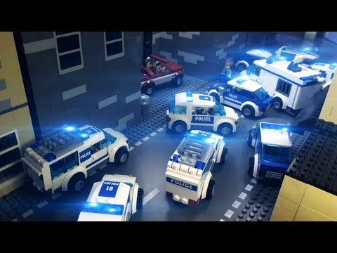 "LEGO® City Fan Video ""Car Crooks"""