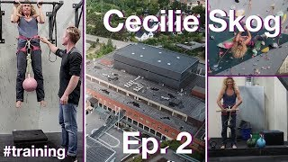FIRST CLIMBING SESSION -CECILIE SKOG | PROJECT 7B+ (Episode 2) by Magnus Midtbø