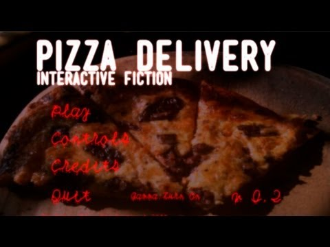Pizza Delivery Interactive Fiction