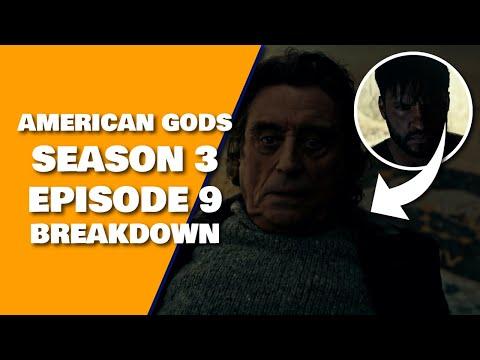 American Gods Season 3 Episode 9 Breakdown Review Recap & Book Differences & 3x10 Preview