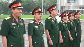 Bộ Tư lệnh Bảo vệ Lăng Chủ tịch Hồ Chí Minh báo công dâng Bác