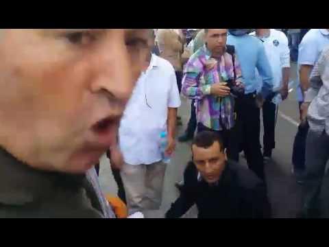 فيديو - قمع مسيرة إسقاط خطة التقاعد