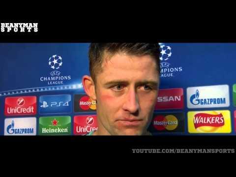 Chelsea 4 0 Maccabi Tel Aviv   Cesc Fabregas & Gary Cahill Post Match Interview