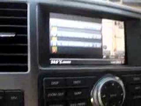 Nissan Armada 2008 navigation system. this clip shows the navigation system abilities to talk in arabic