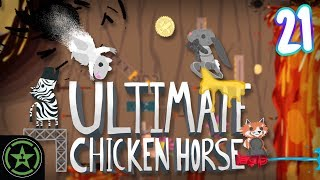 WORST IS FIRST - Ultimate Chicken Horse Month (#21) | Let's Play by Let's Play