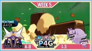 BRING THE HAMMER! | Minnesota Vikavolts VS New York Noibats P4G S2 W5  | Pokemon Sun Moon by aDrive