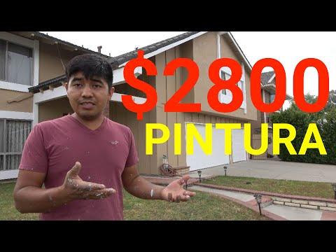 como pintar una casa , cuanto cobrar , ideas q t pueden ayudar