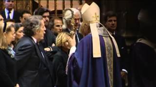 La catedral de Sevilla se despide de la duquesa de Alba