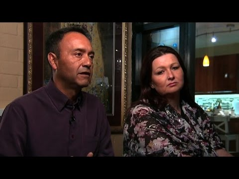 Immigrant husband, wife support Trump's wall